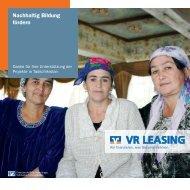 Nachhaltig Bildung fördern - VR-Leasing AG