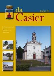 Giugno 2006 - Comune di Casier