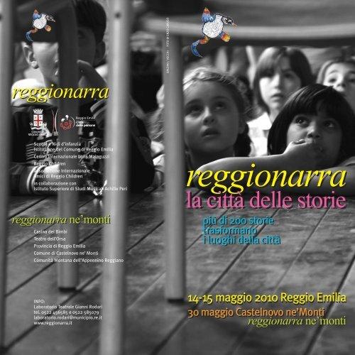 scarica il programma - Reggio Emilia - Comune di Reggio Emilia