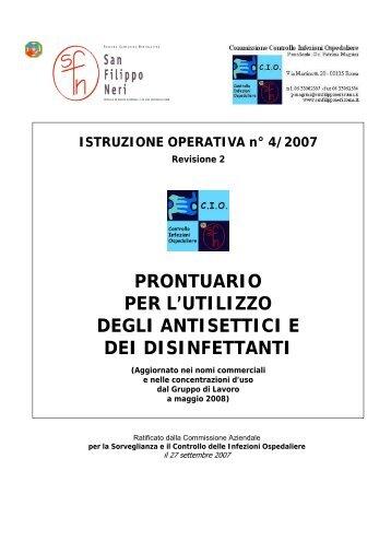 prontuario - Azienda Complesso Ospedaliero San Filippo Neri