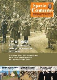 Maggio 2008 - Comune di Maserada sul Piave