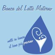 Banca del Latte Materno - Regione Marche