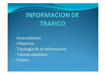 - Antecedentes - Objetivos - Tipología de la información ... - Racc
