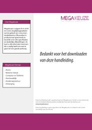 Philips avent scf300-12 Handleiding - MegaKeuze.nl
