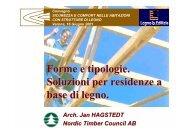 Forme e tipologie. Soluzioni per residenze a base di legno. - Infobuild