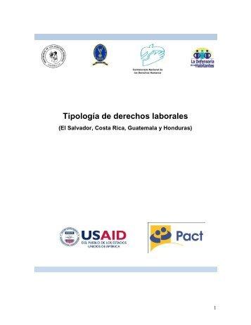 Tipología de derechos laborales - Procurador de los Derechos ...