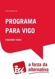 PROGRAMA ELECTORAL EU VIGO 2011