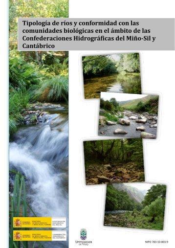Tipología de ríos y conformidad con las comunidades biológicas en ...
