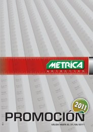 Metrica 32554 livella Alluminio 2 fiale 200 cm