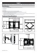 Sanus Systems Xf228b1 Installation Instructions - Page 3