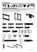 Sanus Systems Xf228b1 Installation Instructions - Page 4