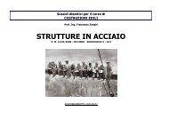 STRUTTURE IN ACCIAIO - Costruzioni edili