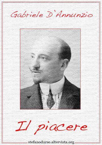 """""""Il piacere"""" di Gabriele D'Annunzio - Altervista"""