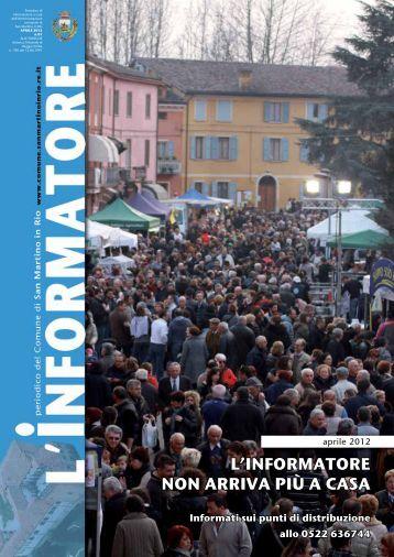 n.1 Aprile 2012 - Comune di San Martino in Rio