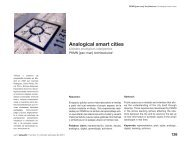 Analogical smart cities