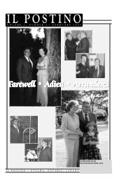 Farewell • Adieu • Ar arewell • Adieu • Ar arewell ... - Il Postino Canada