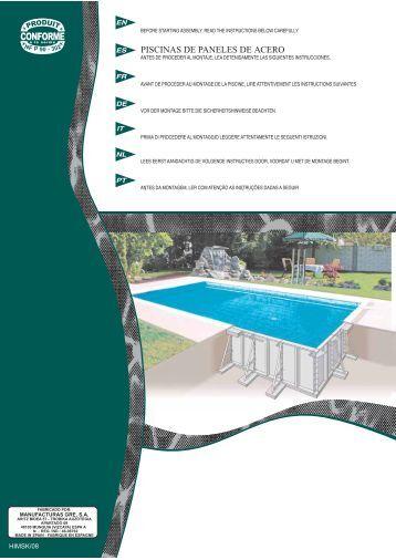 PISCINAS DE PANELES DE ACERO - Pool Zen Spa
