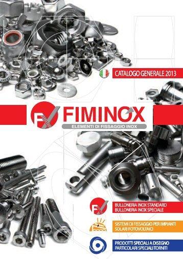 CATALOGO GENERALE 2012 OGO GE ALOTAC ALE ... - Fiminox