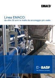 Linea EMACO: - BASF Construction Chemicals Italia S.p.A.