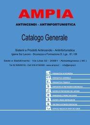 Catalogo Generale - ampia antincendi