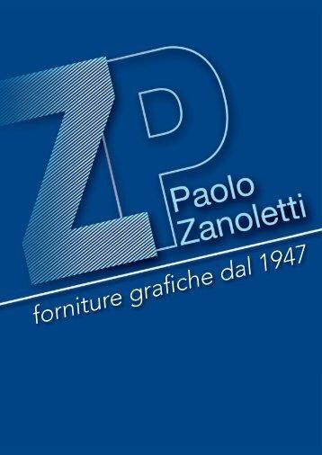 scarica il nostro catalogo in pdf - PRO Grafica di Paolo Zanoletti