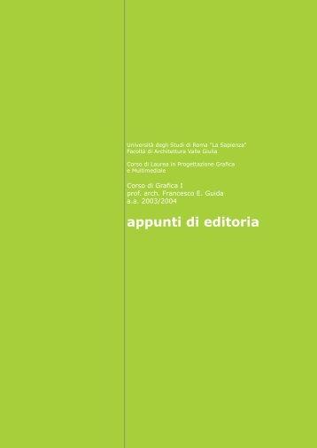 appunti di editoria - Degiorgiscuola.it