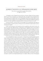 alberto tallone e la tipografia come arte - Alberto Tallone Editore