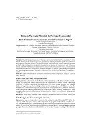 Carta da Tipologia Florestal de Portugal Continental - SciELO