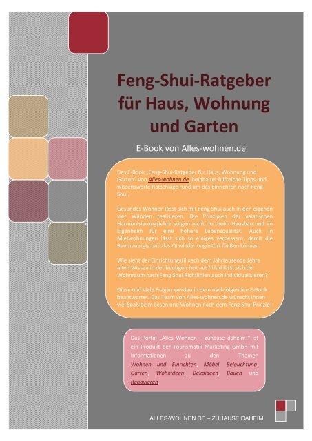 Feng-Shui-Ratgeber für Haus, Wohnung und Garten
