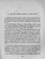 LA CASA DEL OBRERO MUNDIAL, SINDICALISTA ... - Bicentenario