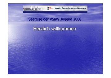 Herzlich willkommen - VSaW