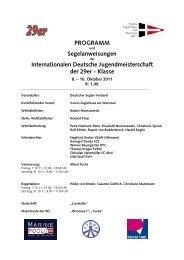 IDJM 29er 2011 Segelanweisung Stand 06 10 2011_2 - VSaW