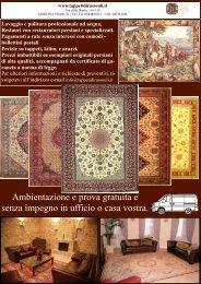 Sfoglia il Volantino pdf - Tappeti Persiani di Rassouli Ghassem