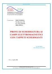 CON TAPPETI SCHERMANTI CAMPI ELETTROMAGNETICI ...