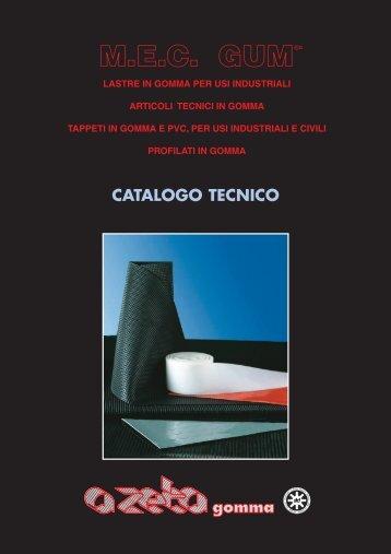 mec gum® catalogo tecnico - A ZETA Gomma