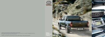 Brochure Accessori Hilux 2011 - Toyota