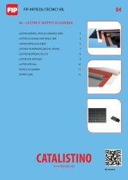 Lastre e tappeti di gomma.pdf - FIP Articoli Tecnici