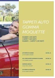CORA 000135105 Tappeto Furgoni in Moquette Personalizzato
