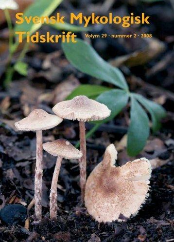 SMT 2-2008 - Sveriges Mykologiska Förening