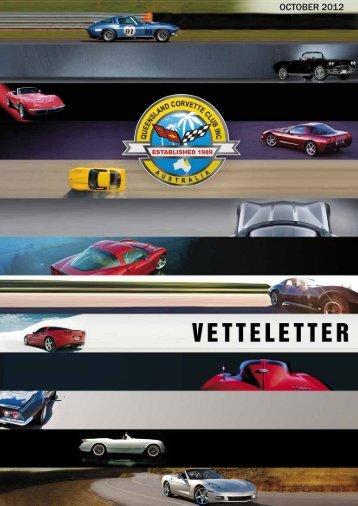 OCTOBER 2012 - qld corvette club inc
