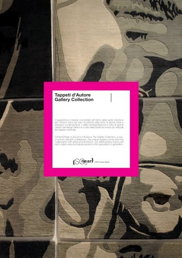 Tappeti d'Autore Gallery Collection - SoFar/SoNear