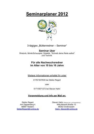 Seminar über - VSK Verband Saarländischer Karnevalsvereine