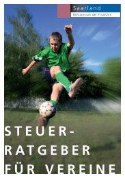 steuer- ratgeber für vereine - VSK Verband Saarländischer ...