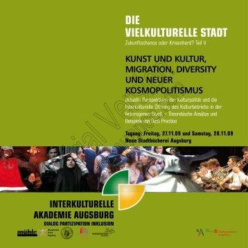 kunst und kultur, migration, diversity und neuer ... - VSOP