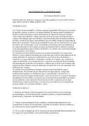 Borrell F. Trastonros de la Personalidad. En - Telefonica.net
