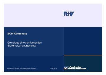 Vortrag Dr. Schmidt (1,4 MB) - vsw-service