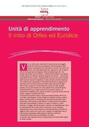 Unità di apprendimento Il mito di Orfeo ed Euridice - Q. Orazio Flacco