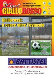 sgr APRILE 2013.indd - Sport GialloRosso