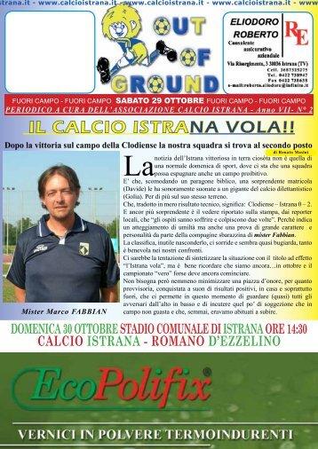 IL CALCIO ISTRANA VOLA!! - istrana Calcio