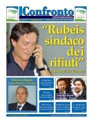 Edizione n. 28 – 27 Febbrazio 2012 - Confronto della Provincia di ...